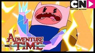 Hora de Aventura | Los Cristales Tienen Poder | Cartoon Network