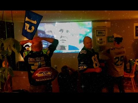 Seattle Seahawks fans react to Super Bowl XLIX ending.