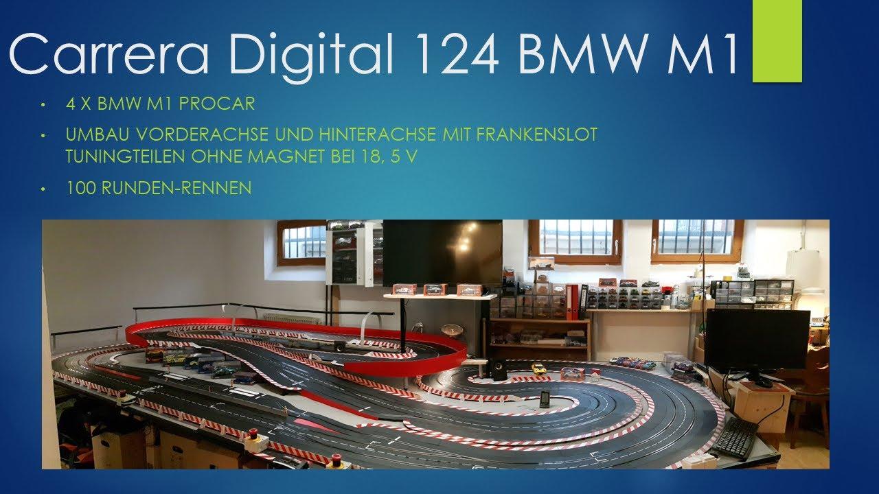 Carrera Digital 124 BMW M1 ProCar - Rennen 100 Runden