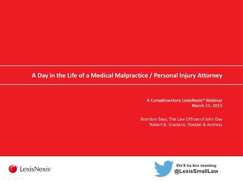 Life as a Small Firm Medical Malpractice and Personal Injury Attorney
