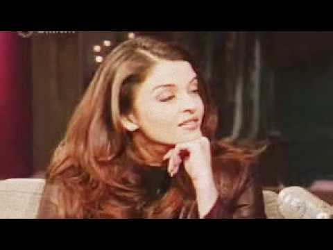 Aishwarya Rai   David Letterman Interview