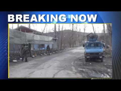 Kashmir Militant Arrested Exclusive Visuals