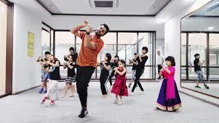 Woh Krishna hai   amit dance choreography   kids dance   