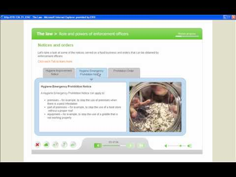 CIEH - Level 2 Food Safety in Catering Online course - YouTube CIEH - Level 2 Food Safety in Catering Online course