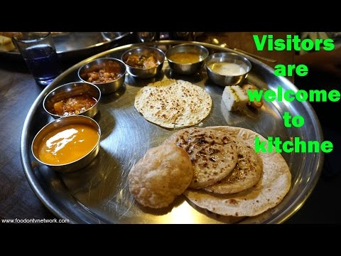 An Ideal Indian Restaurant   Guest Are Welcome To Visit Kitchen! with Nikunj Vasoya