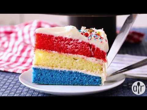 Surprise Inside Independence Cake |July 4th Recipes | Allrecipes.com