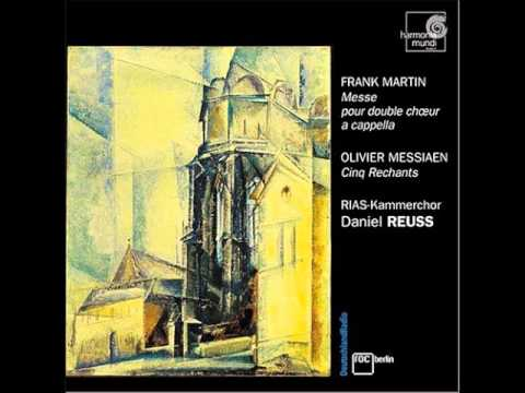 Frank Martin - Mass for Double Choir [RIAS - Reuss]