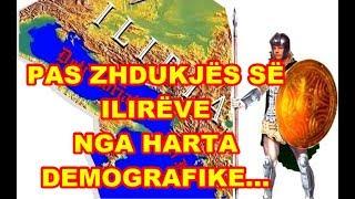 Pas zhdukjes së ilireve nga harta demografike nga sunduesit barbare Romak,Bizantin...