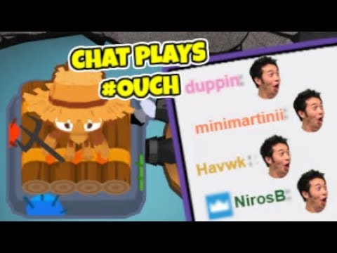 Twitch Plays Bloons TD 6 - Can Twitch Chat Beat #Ouch CHIMPS?