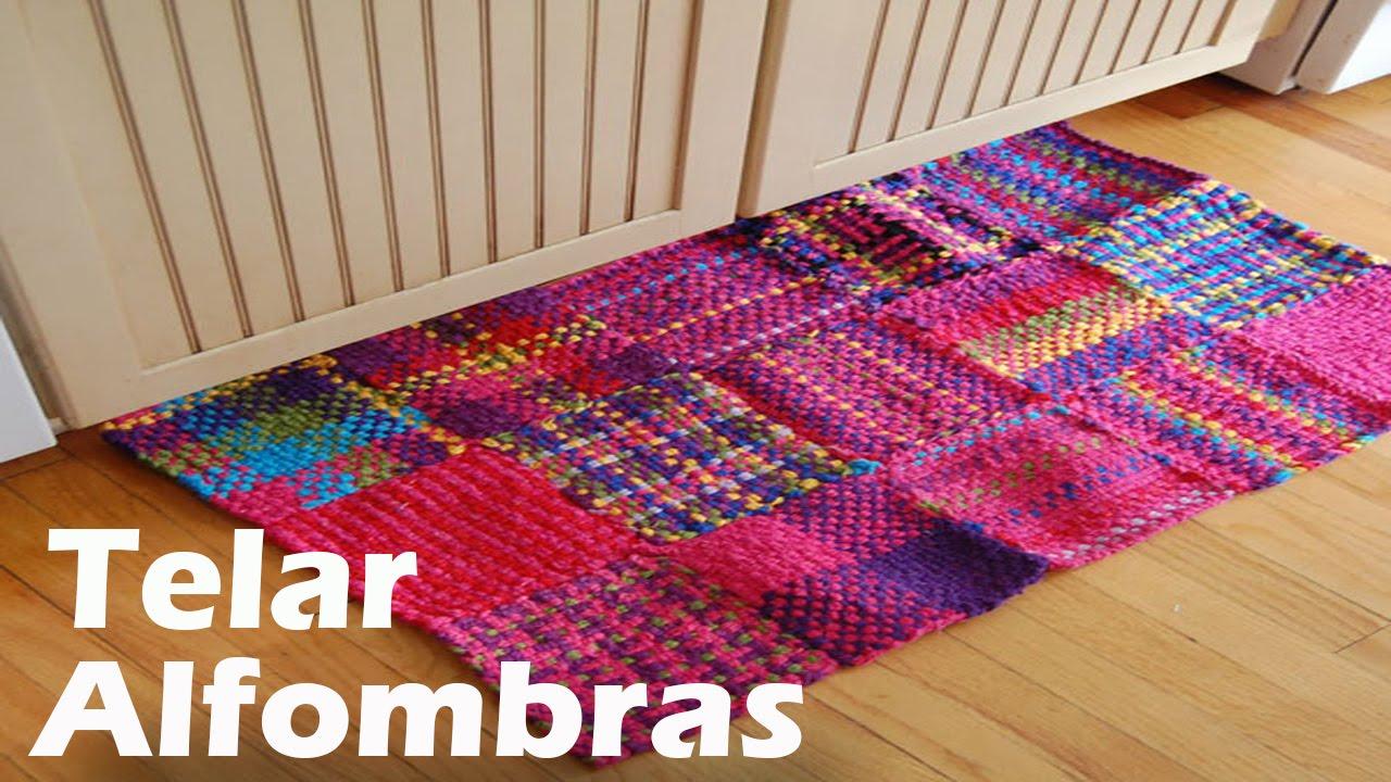 Alfombras tejidas en telar dise os youtube - Telas para alfombras ...