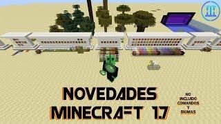 Novedades Minecraft 1.7.2 (No incluidos: comandos/biomas)