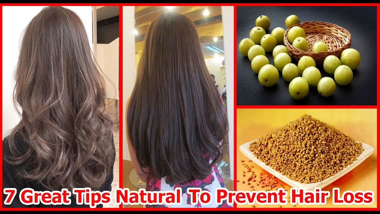 7 Great Tips Natural To Prevent Hair Loss You Shouldnt Ignore Explore Health Youtube