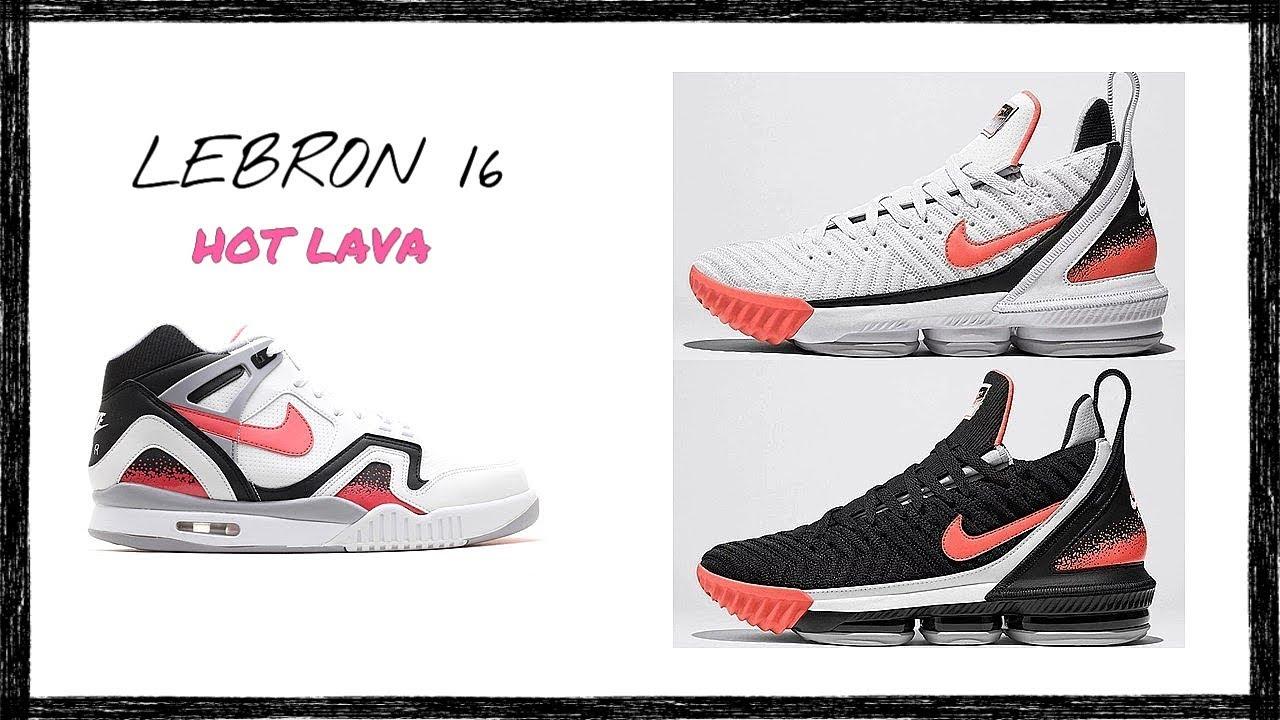 lebron white lava