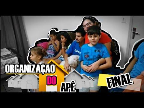 Vlog finalização do apartamento da Marília