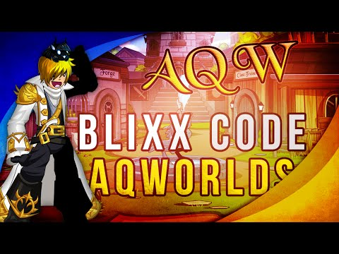 AQW Secret Weapon Code (FREE) Blixx at /Join DVG