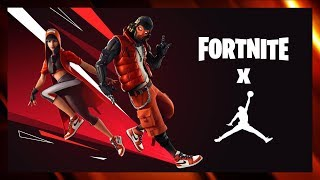 *NEW* FORTNITE X JORDAN EVENT, FREE REWARDS & CHALLENGE!!! (AUS STREAMER)