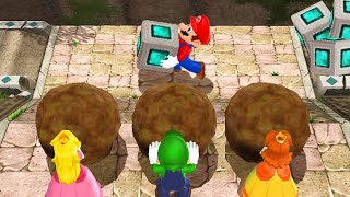 Mario Party 9 - All Difficult Minigames (Master CPU)