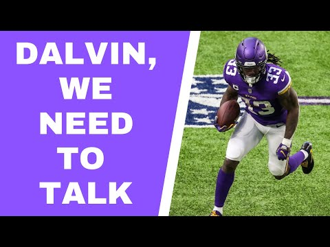 Dalvin Cook, we need to talk about your touches with Minnesota Vikings