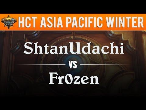 fr0zen vs ShtanUdachi - HCT Winter Championship 2017:  Grand Final