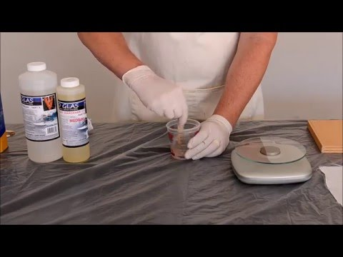 Epoxy Resin - Uses and how to mix.