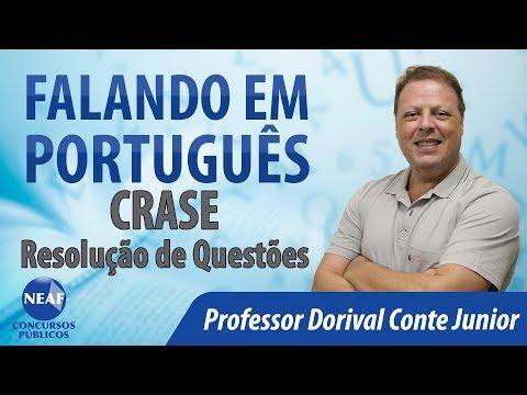 Falando Em Português Crase - Resolução De Questões