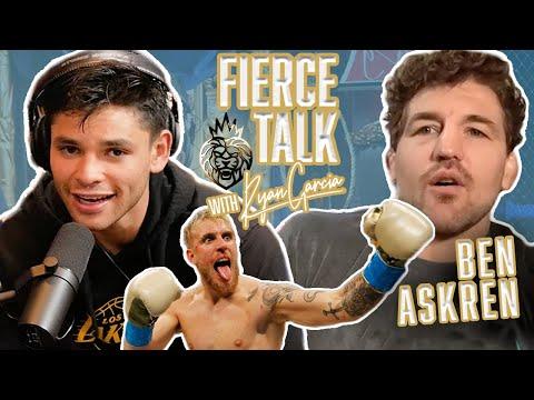 Ben Askren & Ryan Garcia Discuss How To Beat Jake Paul On The Fierce Talk Podcast - ep. 4 - Fierce Talk with Ryan Garcia