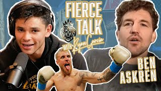 Ben Askren & Ryan Garcia Discuss How To Beat Jake Paul On The Fierce Talk Podcast - ep. 4