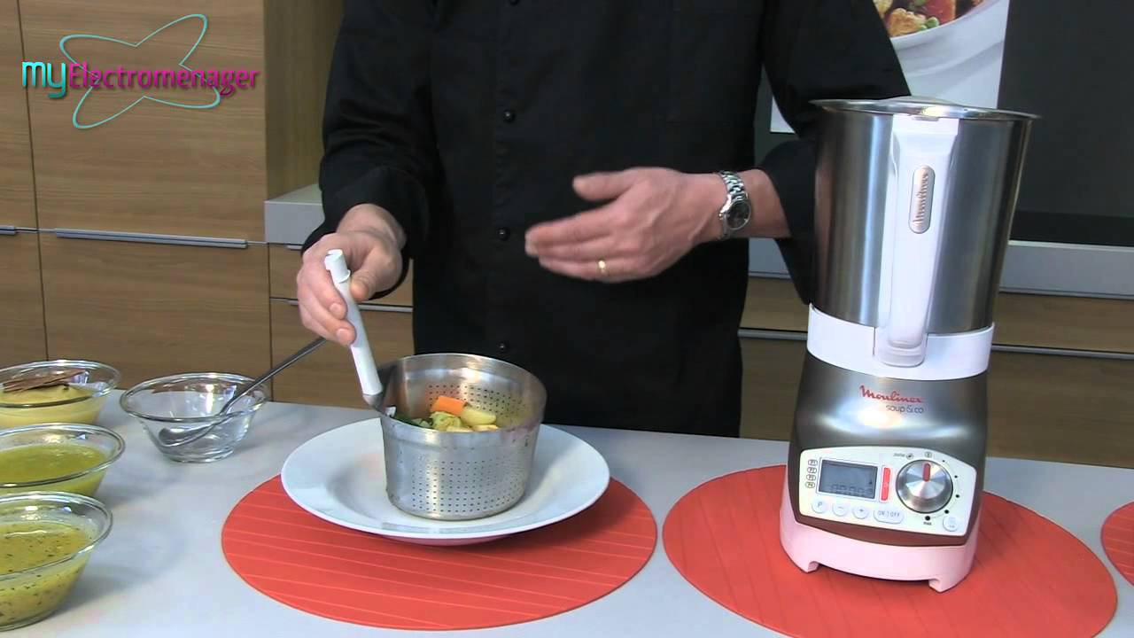 Moulinex soup co blender chauffant youtube - Recette moulinex soup and co ...