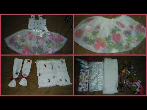 How To Cut Flower Frock Cutting & Making With Designing With Flowers