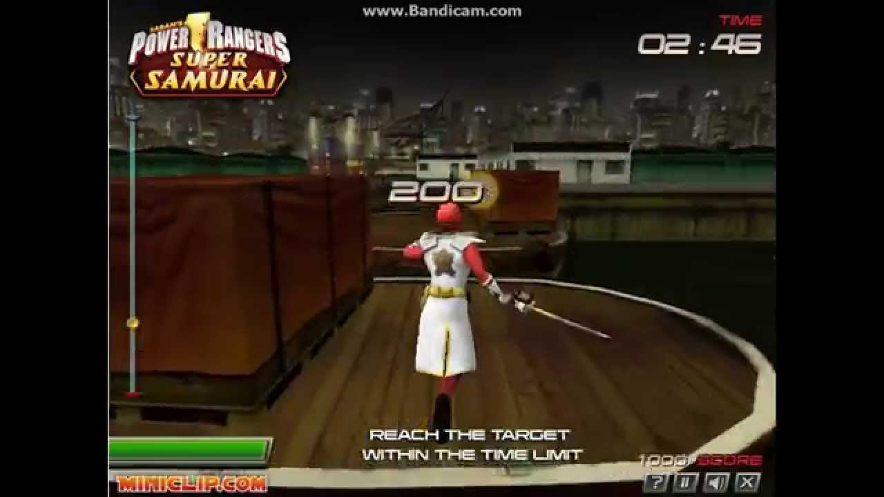 Games: Power Rangers Super Samurai (3D Game) - YouTube