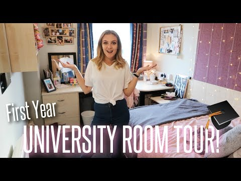 UNIVERSITY ROOM TOUR - First Year Halls!