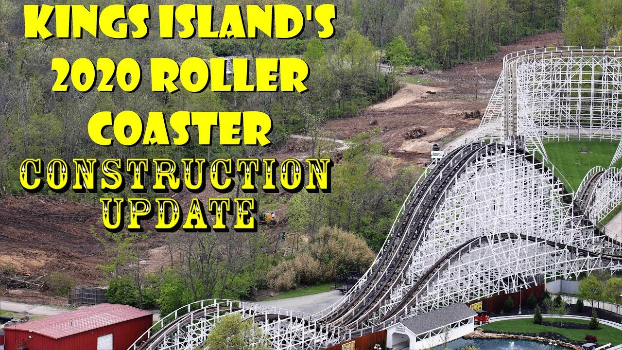 Kings Island 2020 Roller Coaster Construction Update (Massive New Ride!!!)