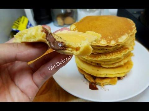 Resep pancake lembut.