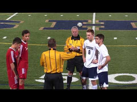 Varsity Boys Soccer vs North Attleboro 10/26/17