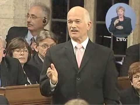 NDP: Jack Layton on the culture of secrecy of the Conservatives