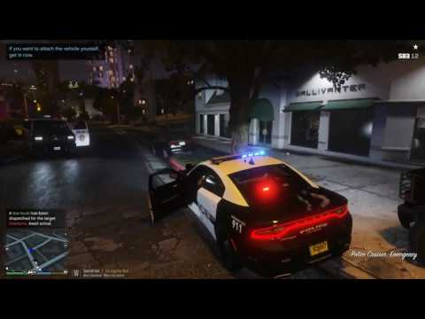 Grand Theft Auto V - Police Mod! US - Attempted Officer Homi