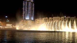 Dubai Fountains - Mon Amour