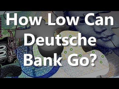 How Low Can Deutsche Bank Go?