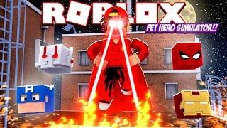 ROBLOX - SUPERHERO PETS SIMULATOR!!
