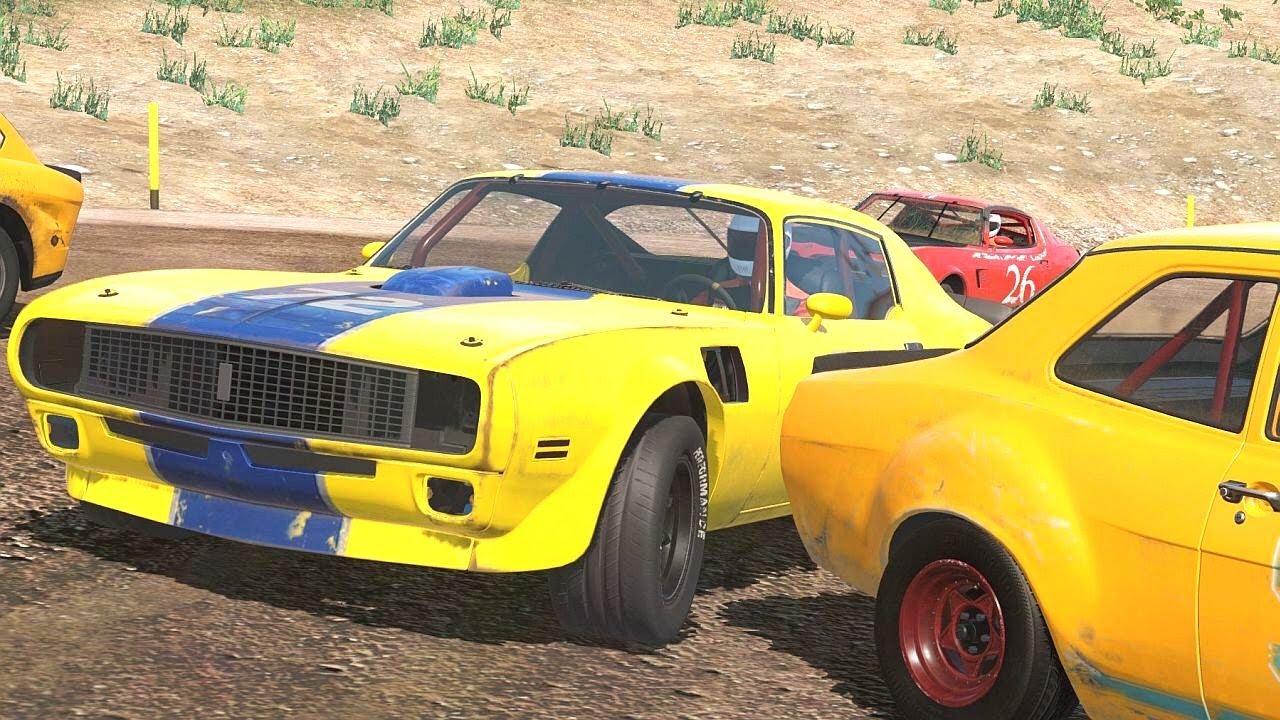 Next Car Game Wreckfest American Muscle Car Short Gravel Race