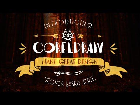 Creating a label design in a simple way - Coreldraw tutorials