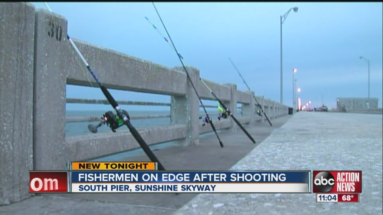 shots fired at sunshine skyway fishing pier youtube