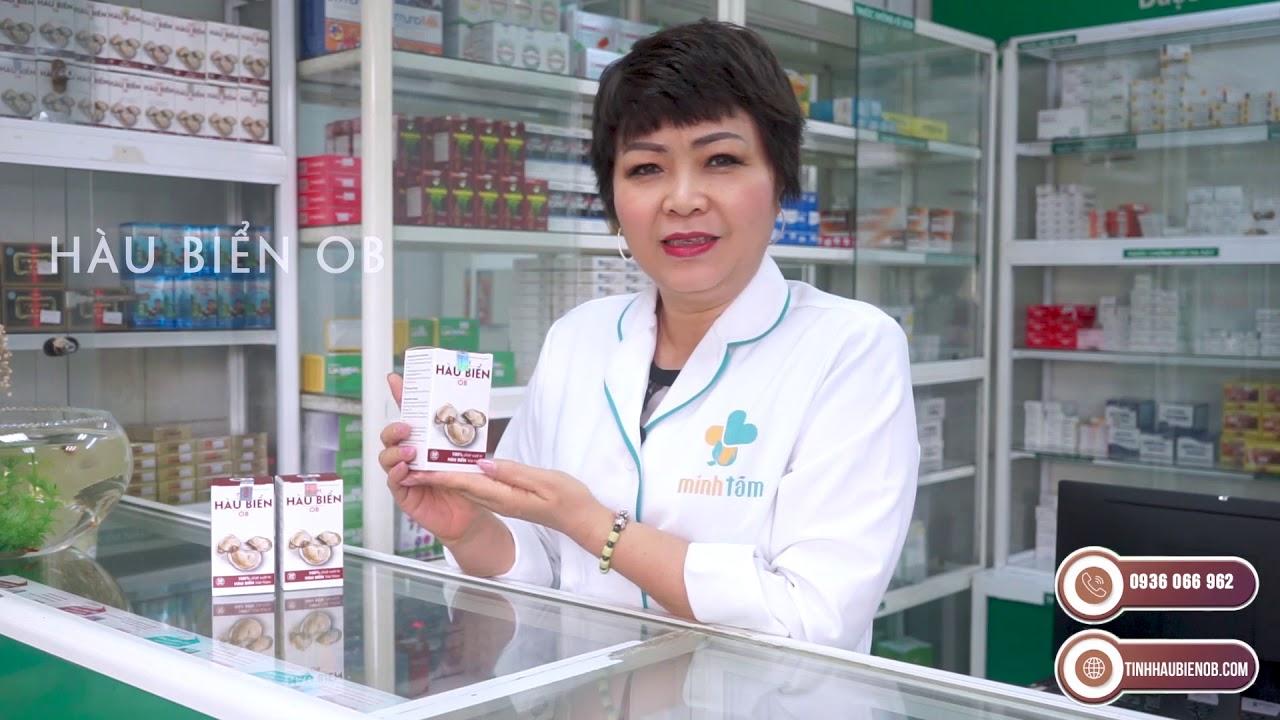 Hàu Biển OB – chia sẻ của nhà thuốc Minh Tâm, số 3 Trần Hưng Đạo.
