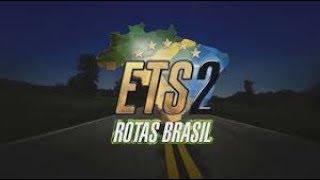 Euro Truck Simulator 2  - Mapa Rotas Brasil