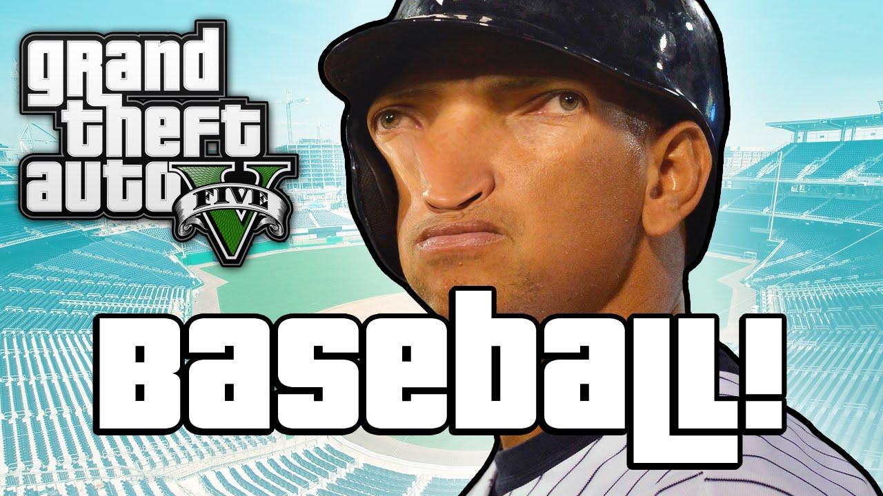 GTA V: BASEBALL BOSSES! (GTA 5 Next Gen Funny Moments)