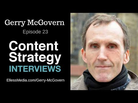Gerry McGovern: Top Task Management | Episode 023