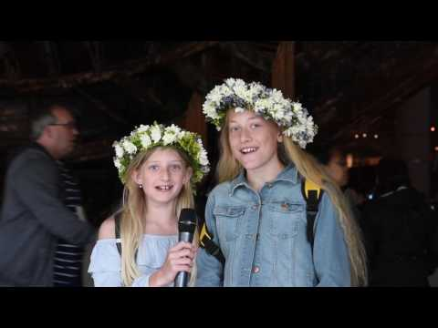 Glad midsommar/Happy midsummer from the Vasa museum