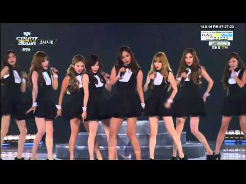 [1080p] 140814 SNSD - Mr. Mr. @ MCountdown K-CON 2014