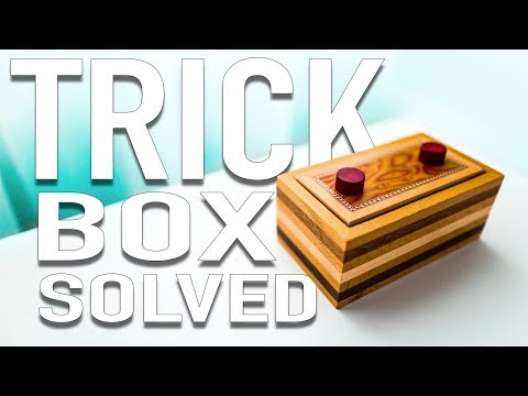 Solving The TRICK Puzzle Box!!