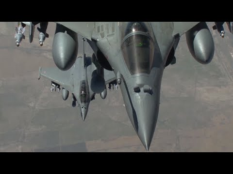 French military video shows airstrikes against Islamic State in Iraq